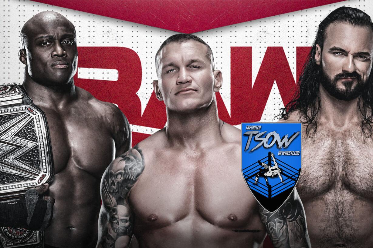 Report RAW 29-03-2021 - WWE
