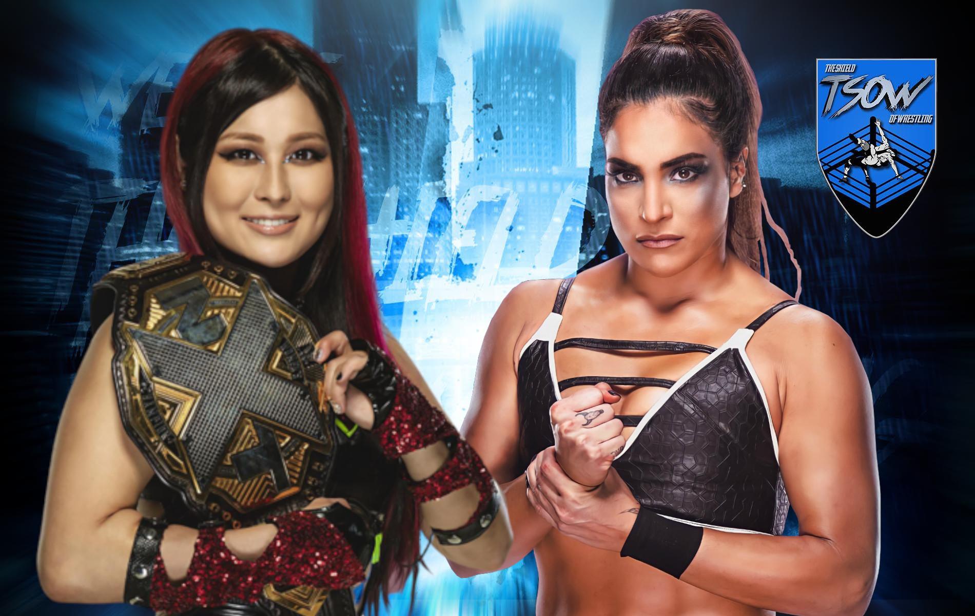 NXT TakeOver: chi ha vinto tra Io Shirai e Raquel Gonzalez?