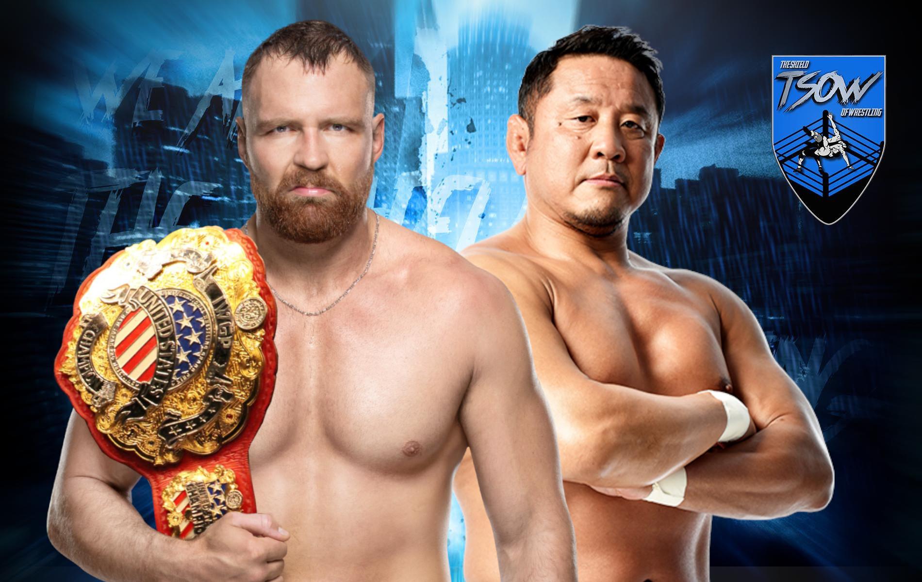 Jon Moxley vs Yuji Nagata si farà a AEW Dynamite