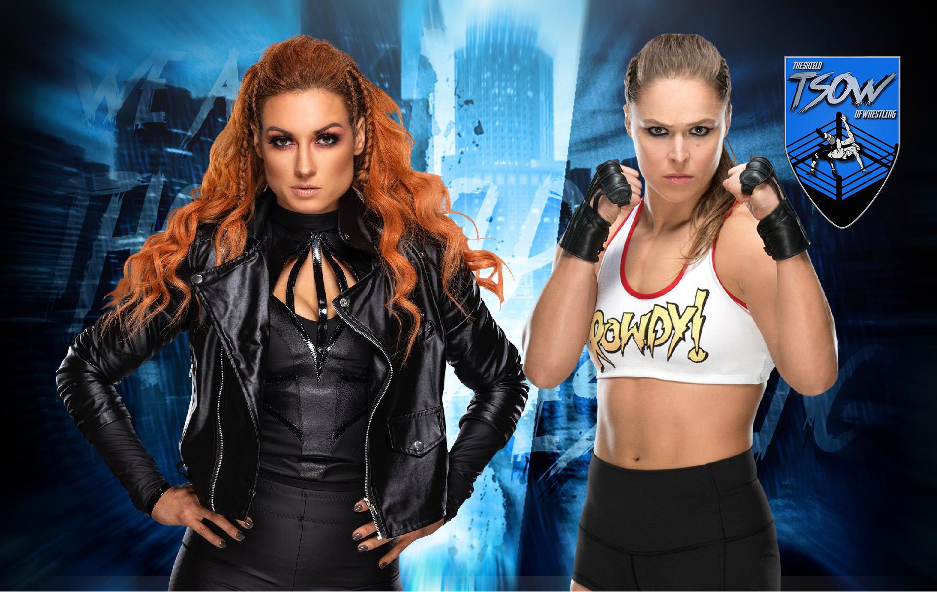Becky Lynch vs Ronda Rousey si farà a WrestleMania 39?