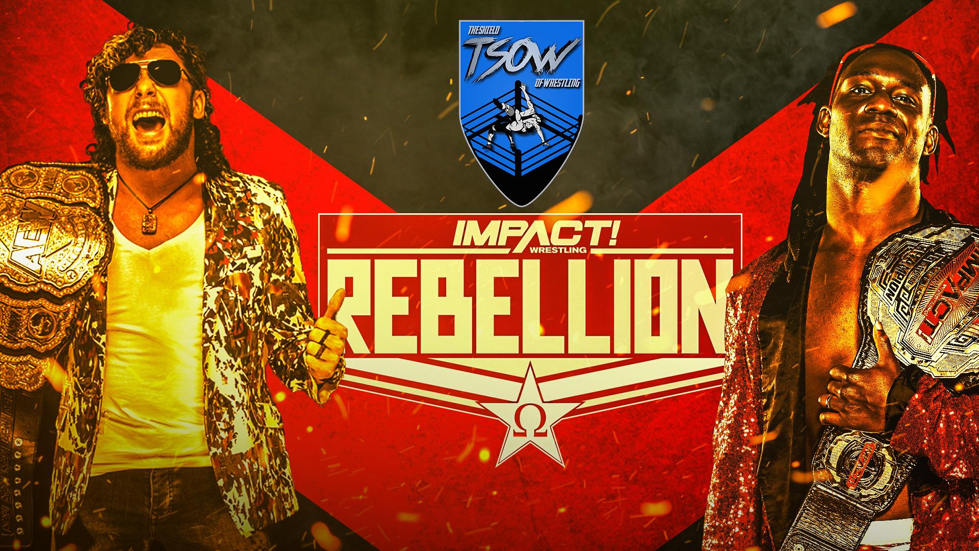 Risultati Rebellion 25-04-2021