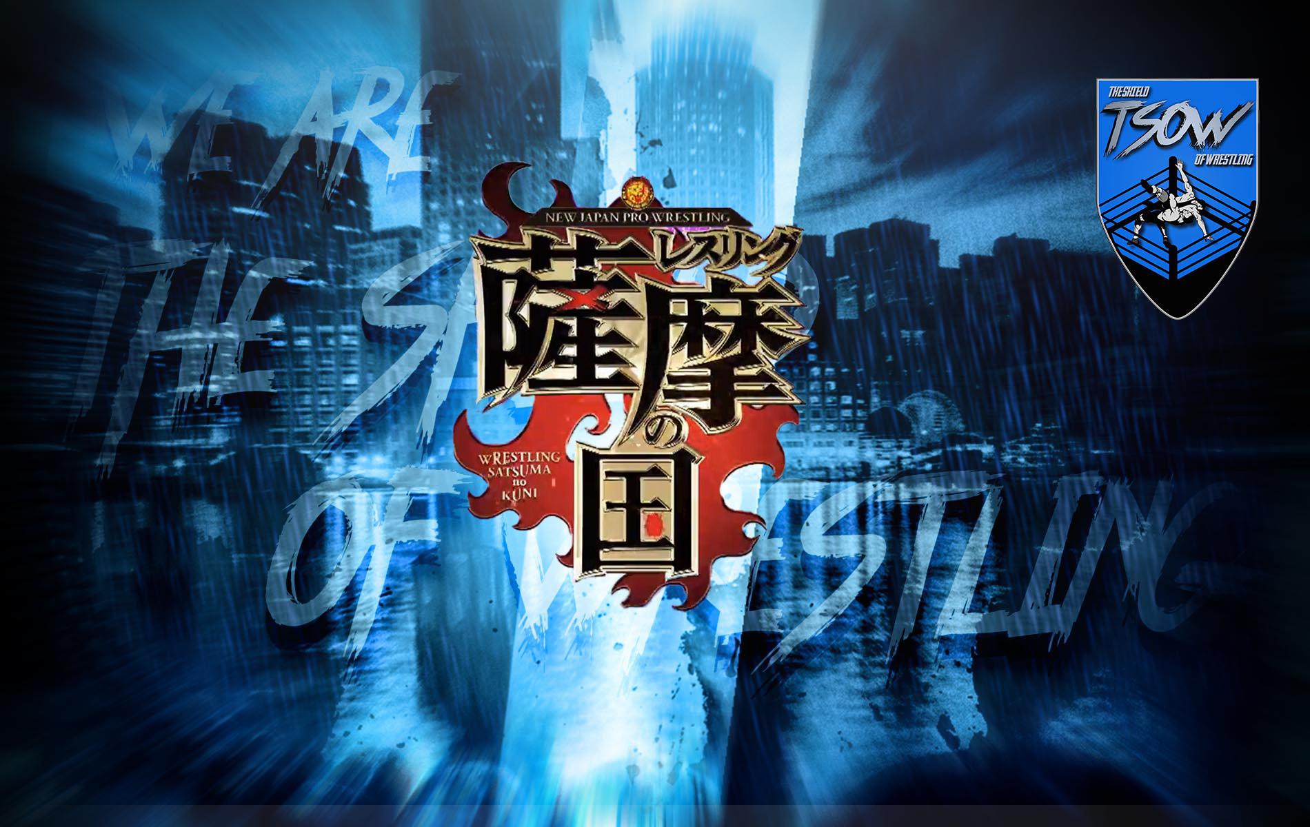Risultati NJPW Wrestling Satsuma no Kuni - Day 1