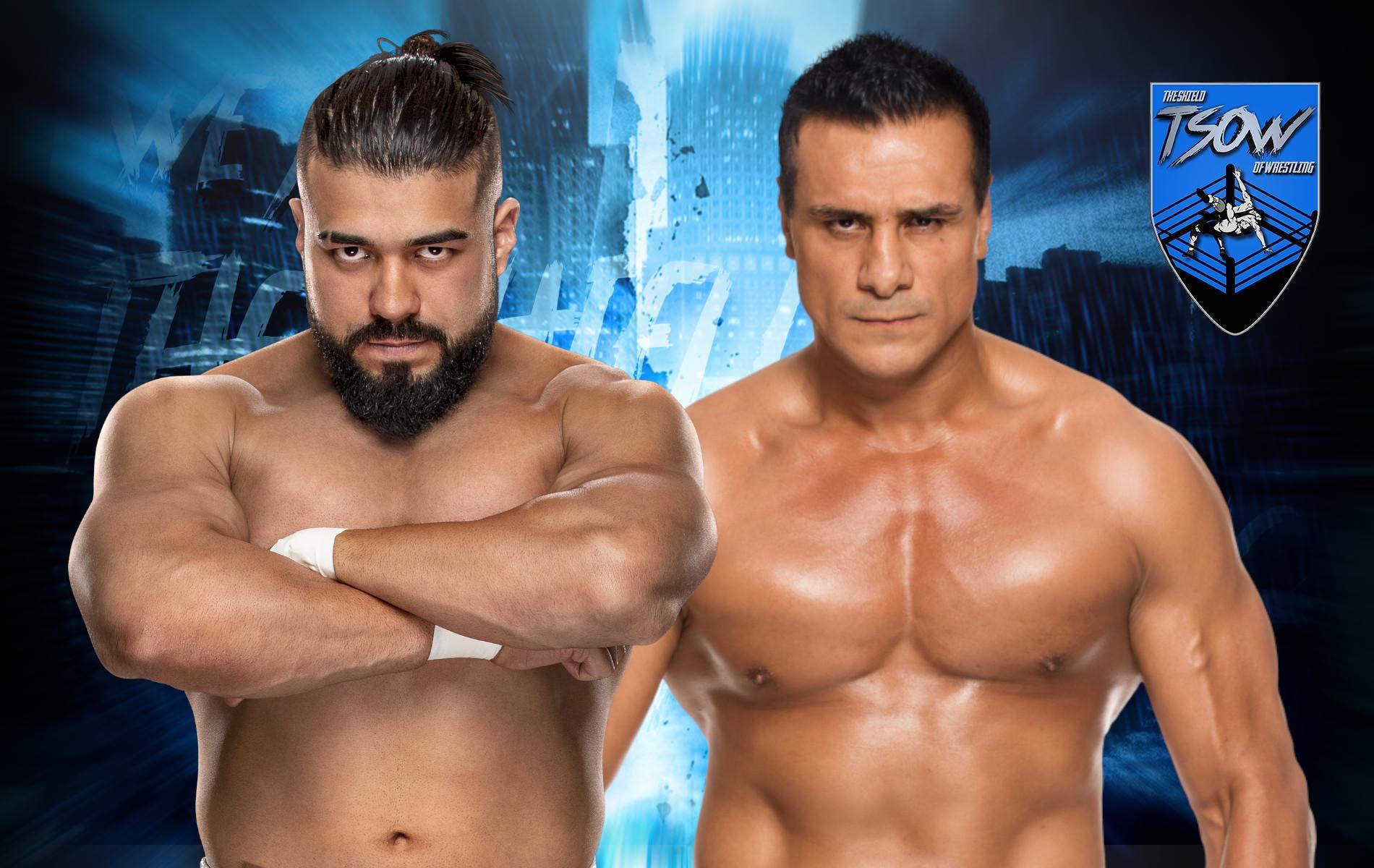Andrade vs Alberto El Patron annunciato per il 31 Luglio