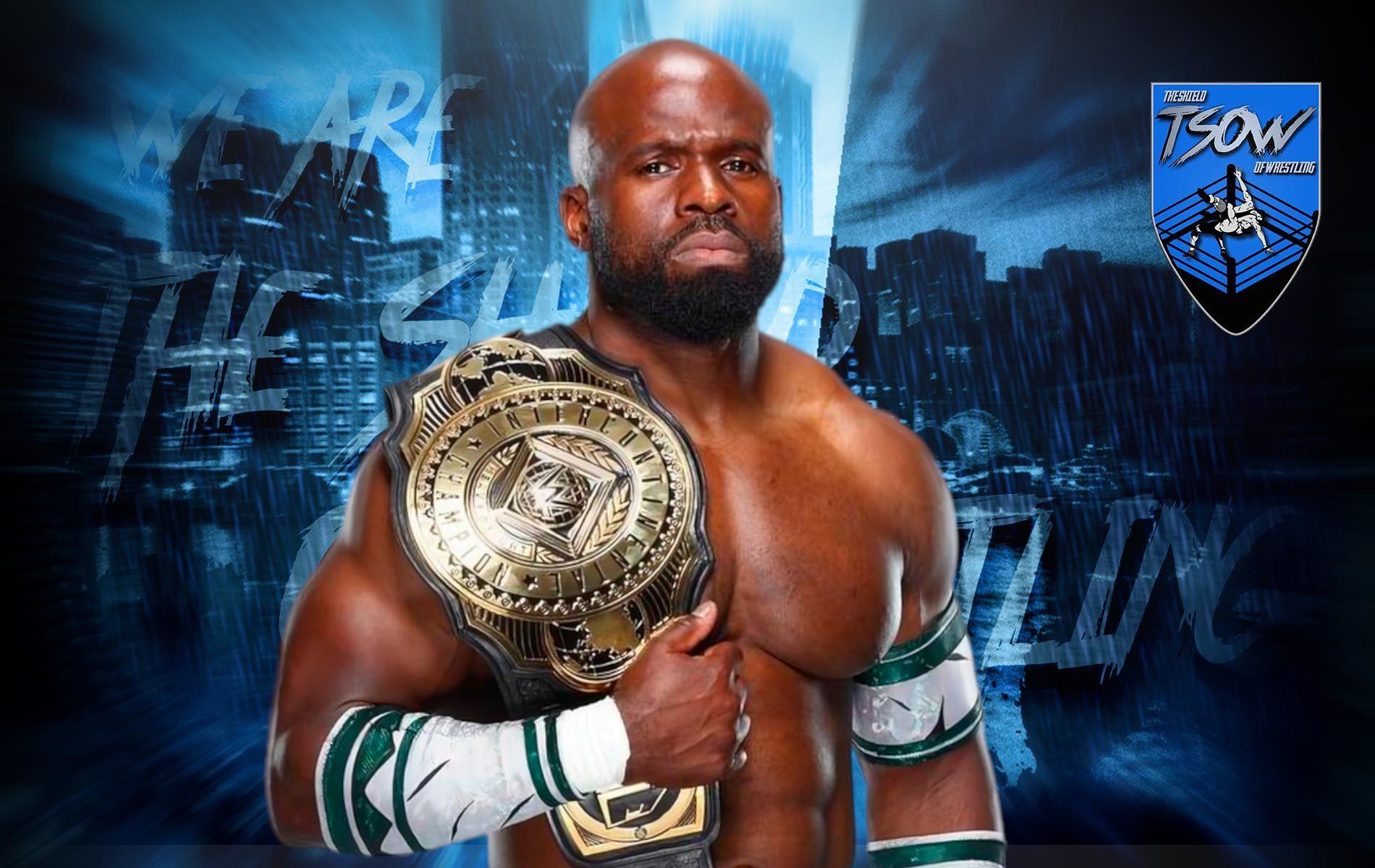 Apollo Crews difenderà il titolo a SmackDown