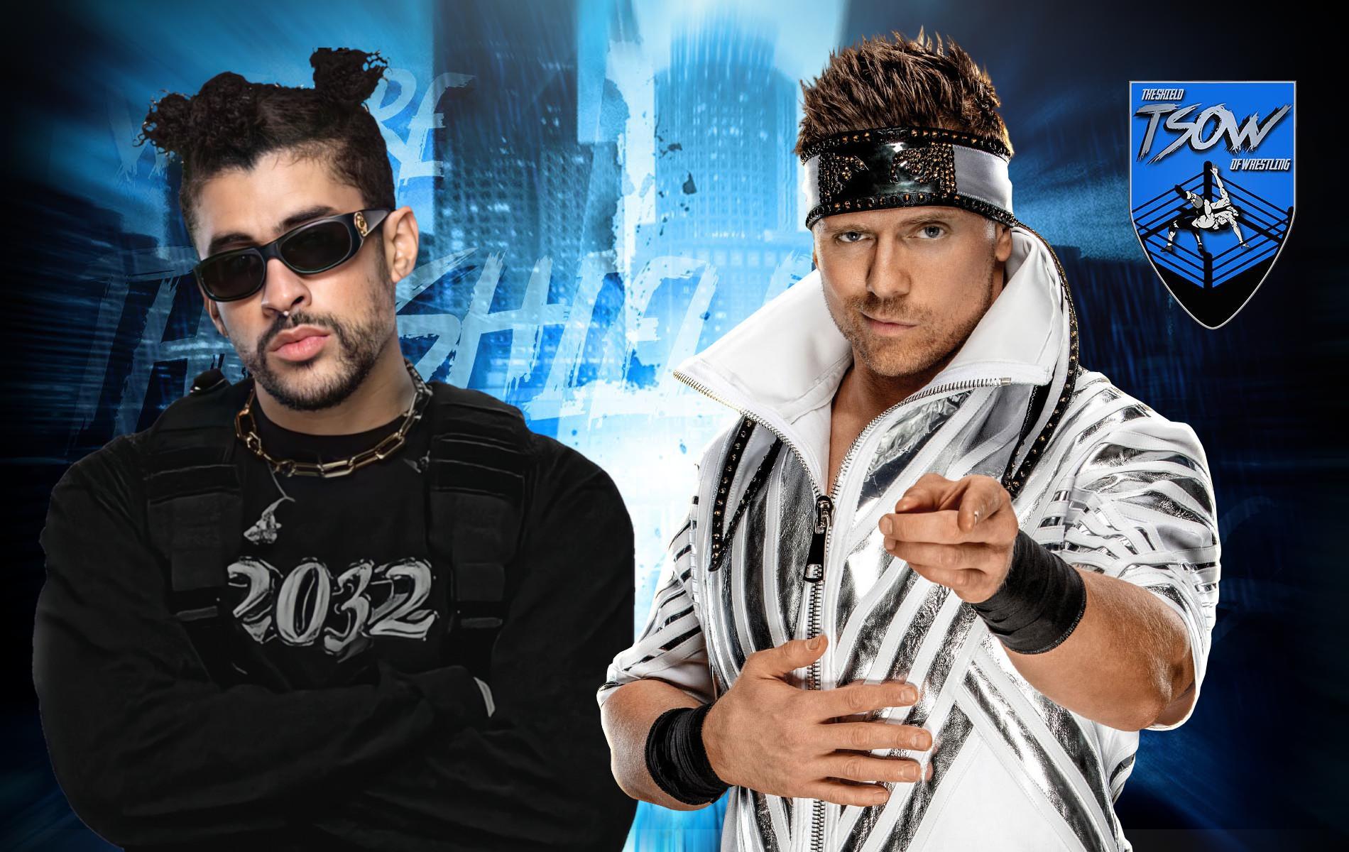 WrestleMania 37: Bad Bunny vs The Miz sarà un Tag Team Match