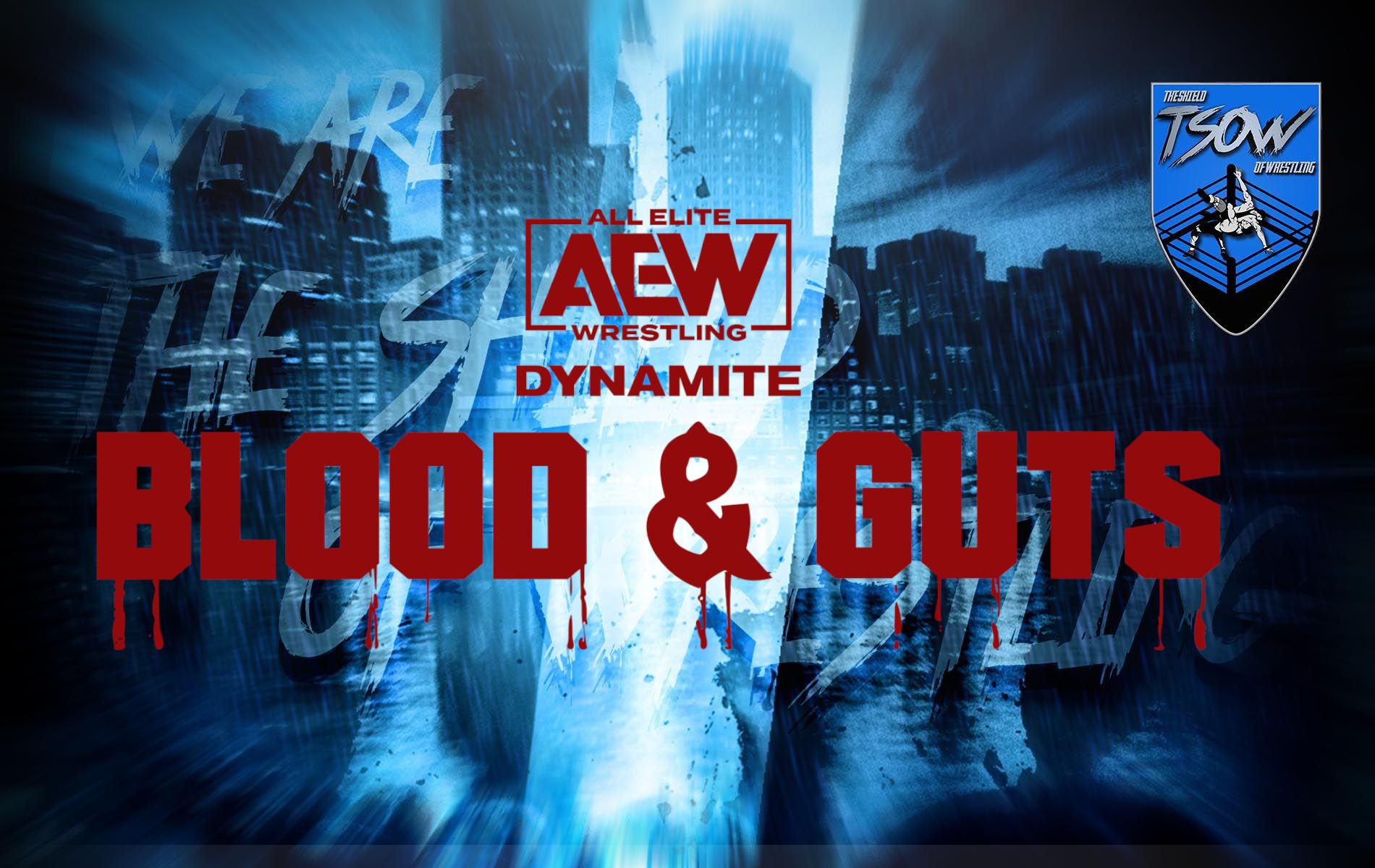 AEW Blood & Guts: importante dettaglio sul match