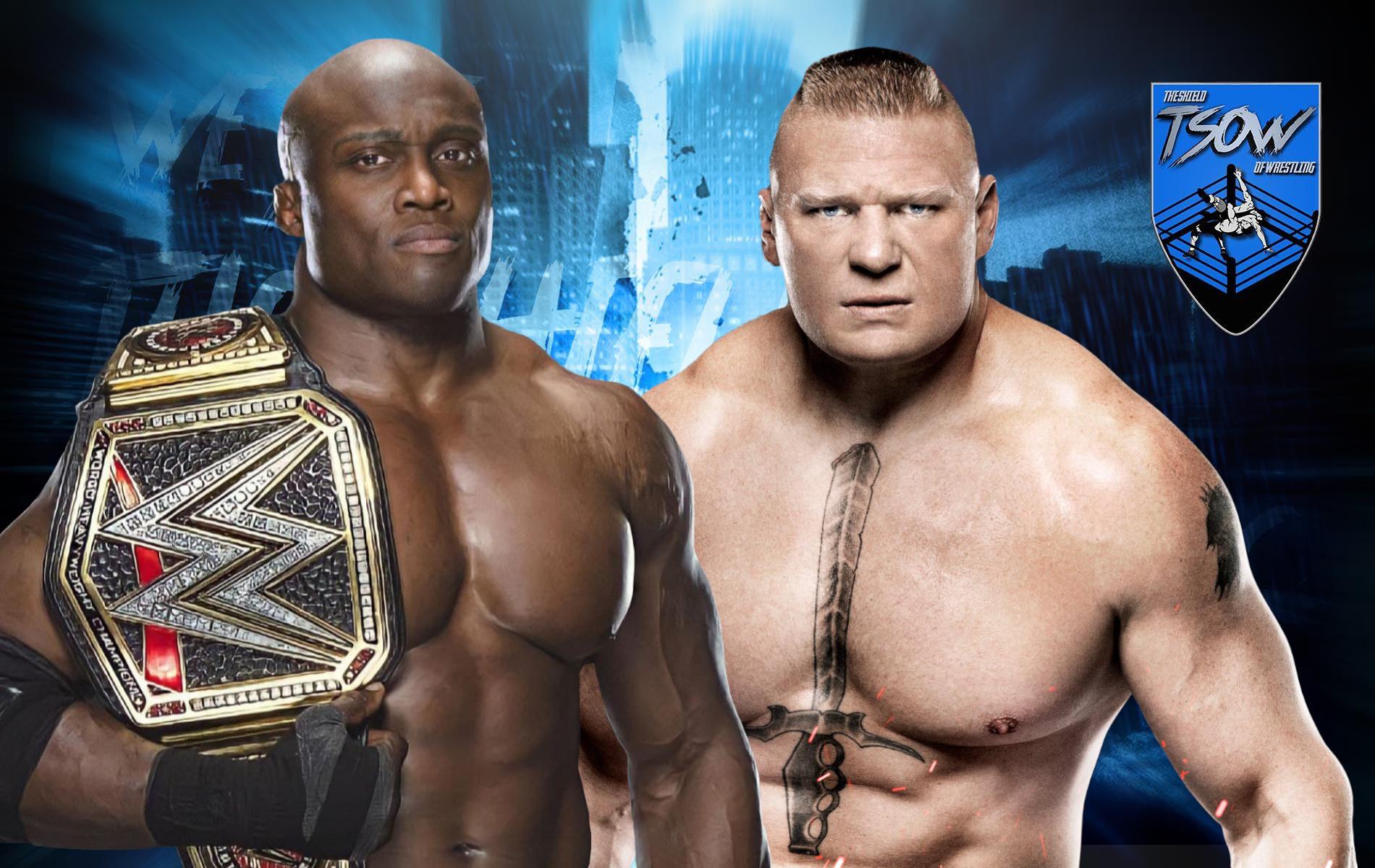 Bobby Lashley vs Brock Lesnar è sempre più vicino?