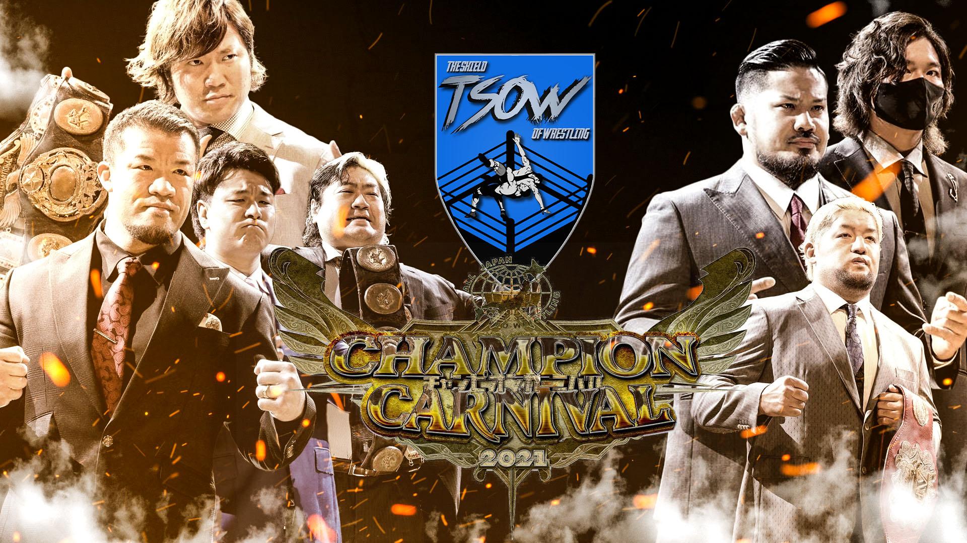 AJPW: cancellate tre date del Champion Carnival 2021