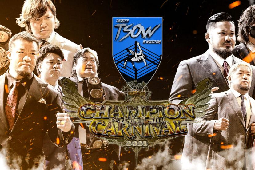 Risultati AJPW Champion Carnival 2021 - Day 2 & Day 3