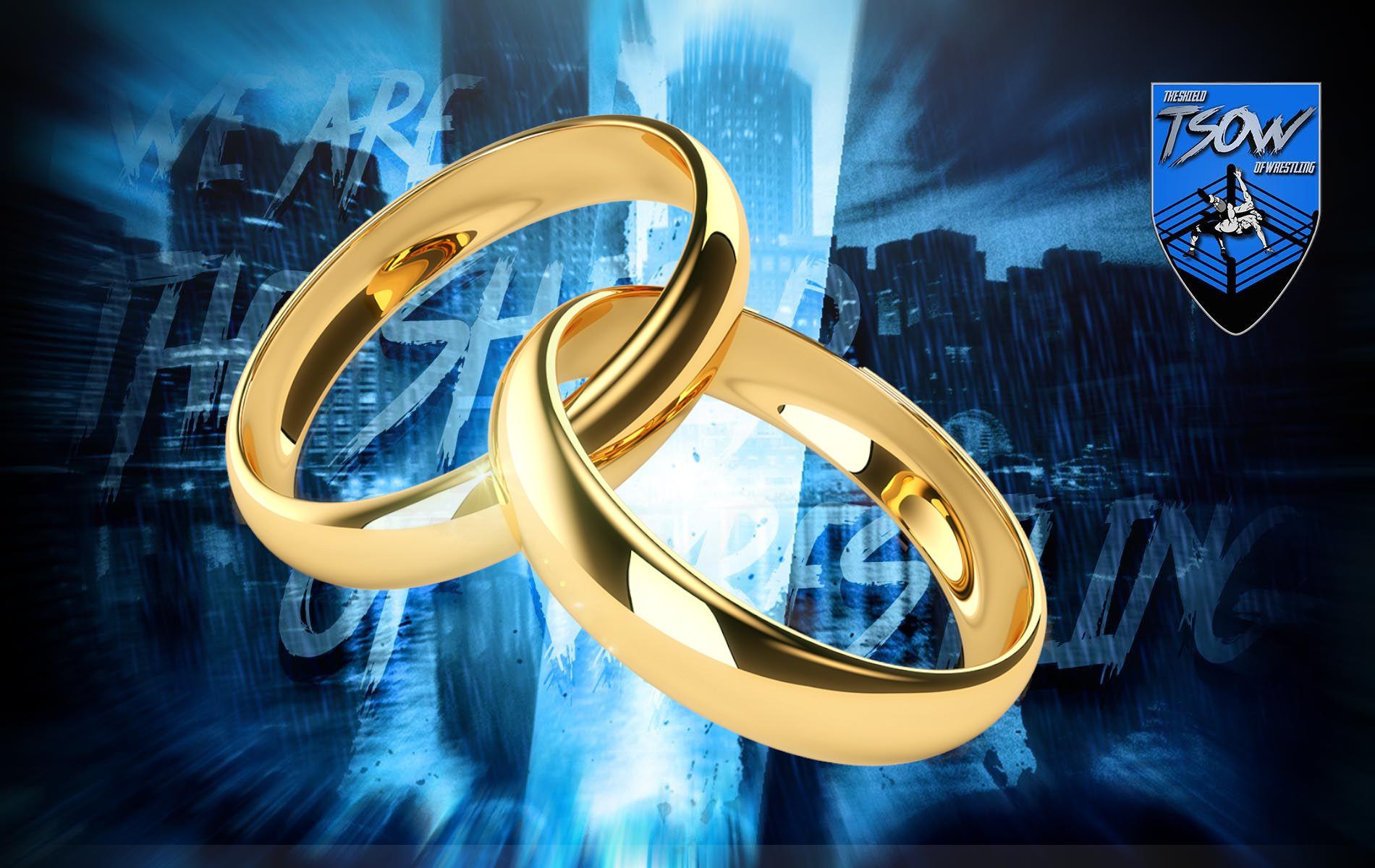 Laynie Luck e GPA: proposta di matrimonio sul ring