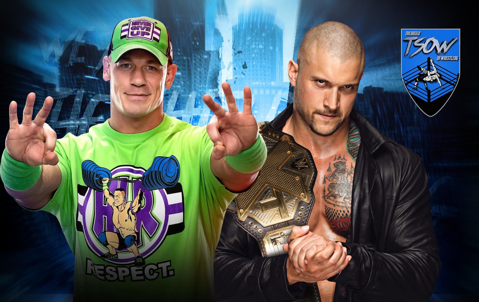 John Cena vs Karrion Kross: la sfida si sposta sui social