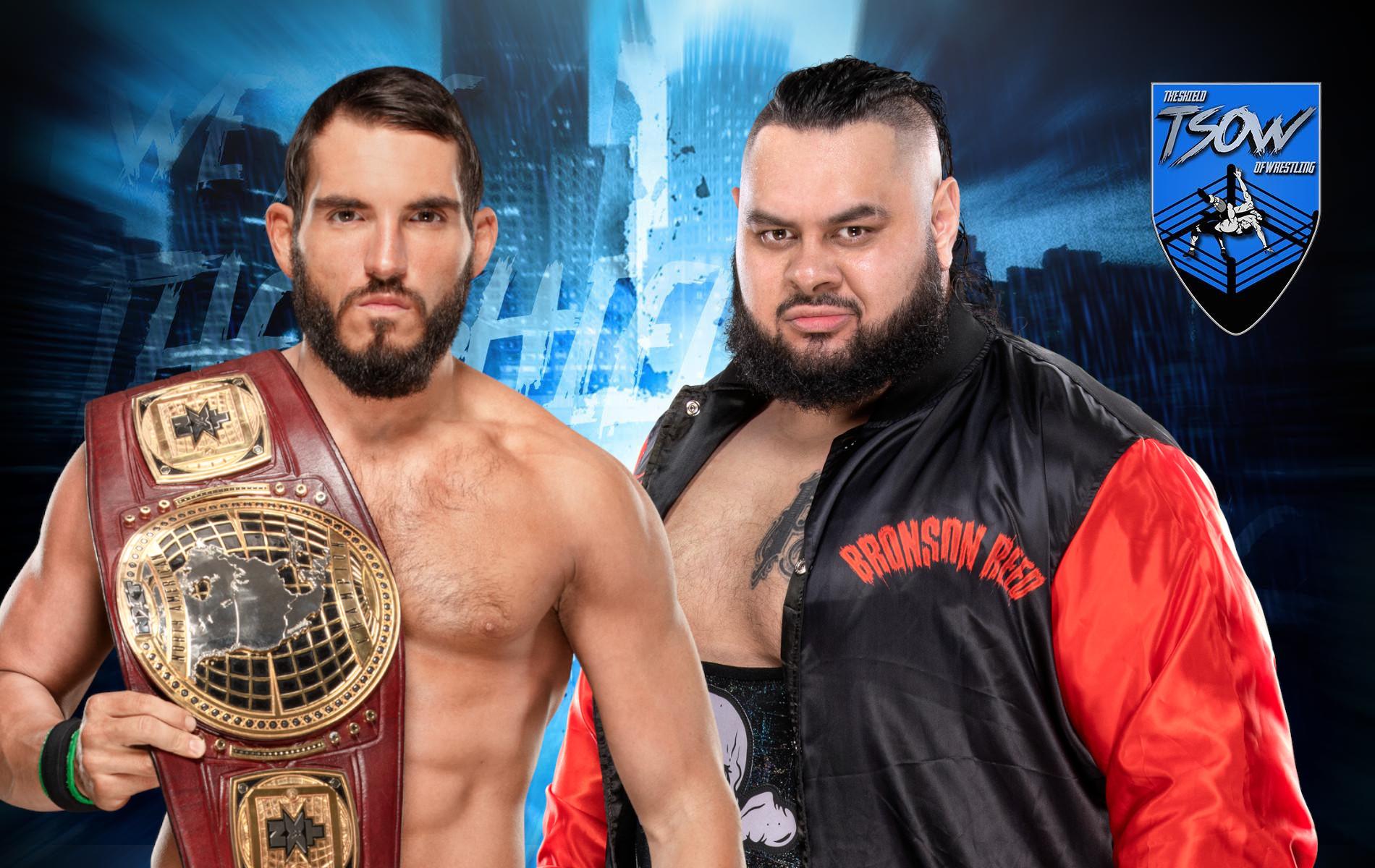 Johnny Gargano vs Bronson Reed: chi ha vinto ad NXT?
