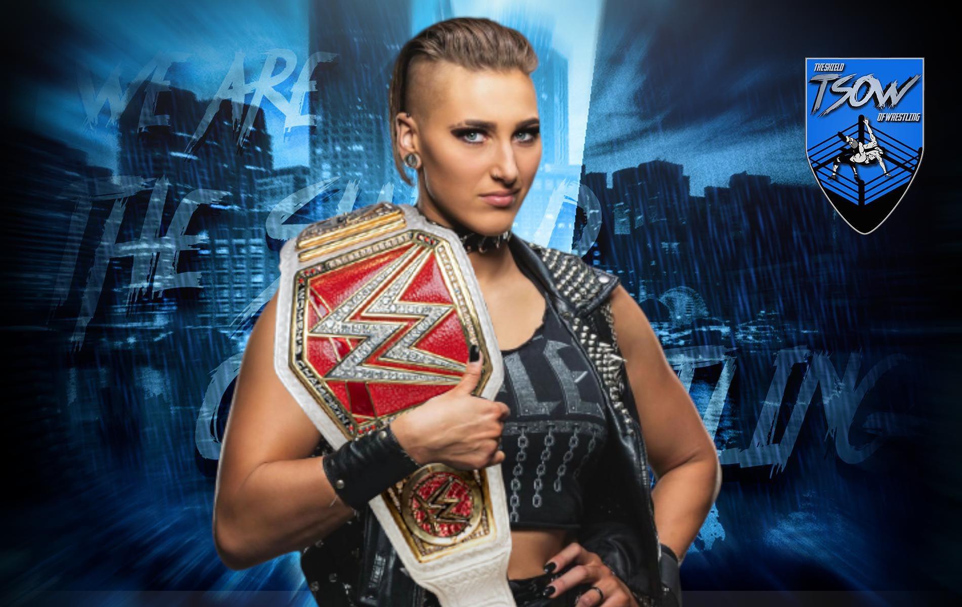 Rhea Ripley: strana gestione della WWE a RAW