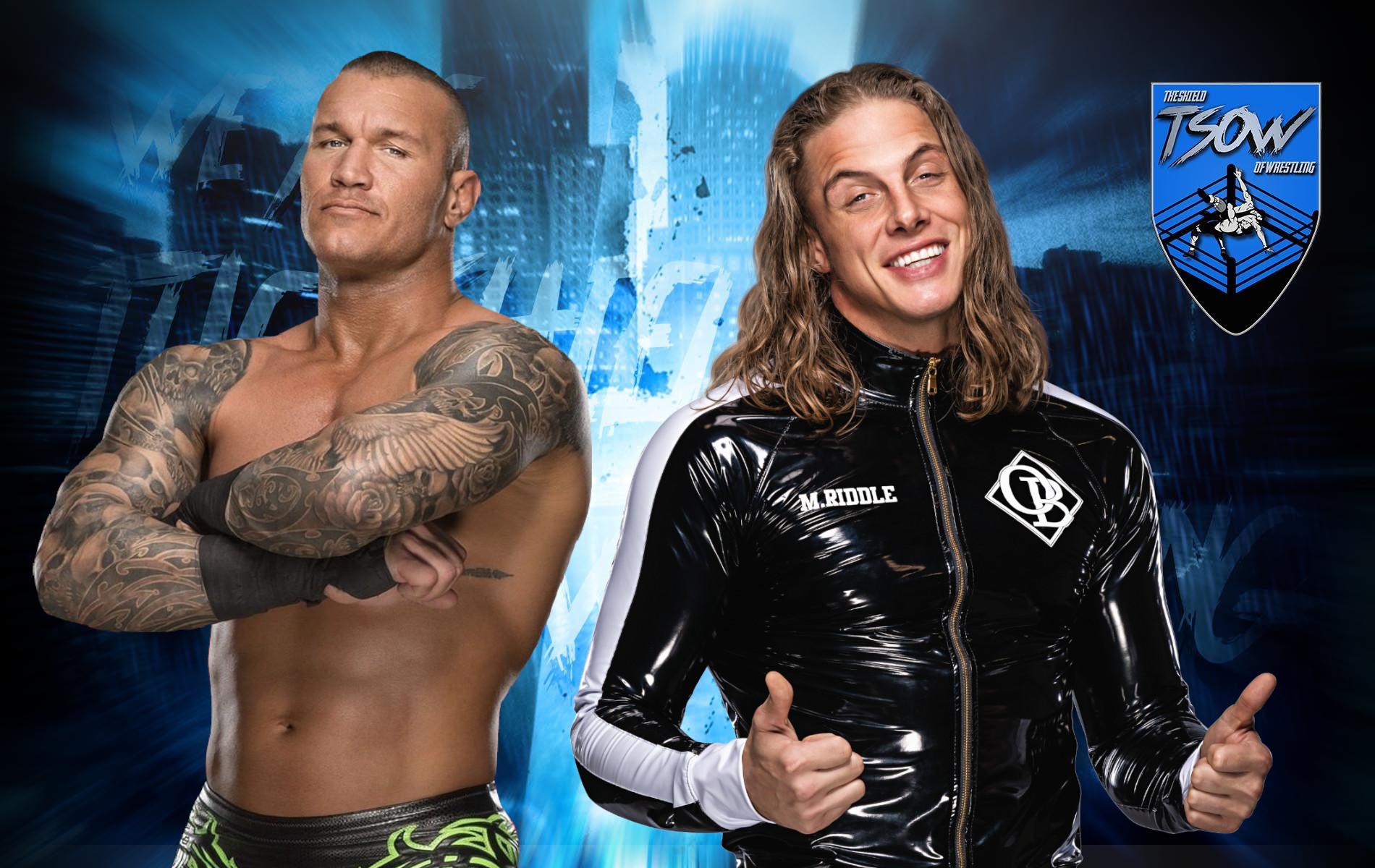 Randy Orton e Matt Riddle presto campioni di coppia?