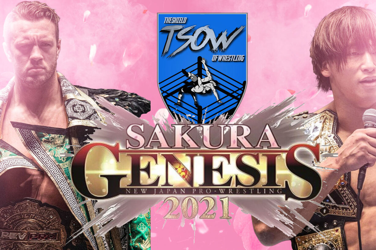 Report Live NJPW Sakura Genesis 2021