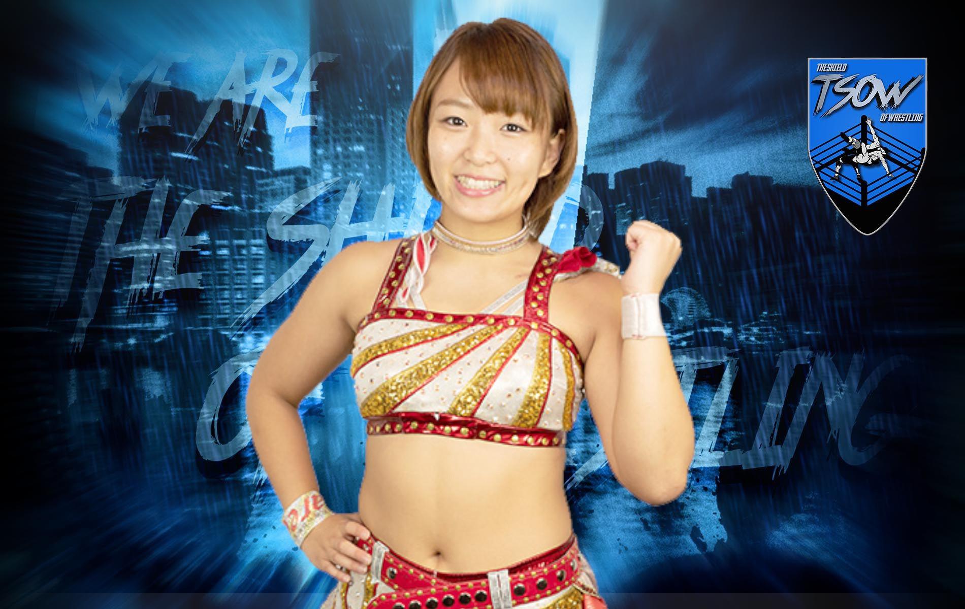 Sarray ha debuttato a NXT