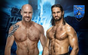 Seth Rollins batte Cesaro a Hell in a Cell 2021