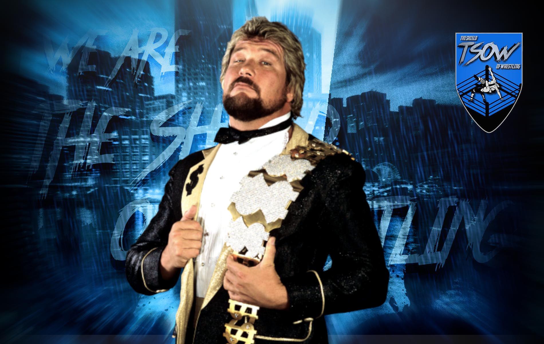 Ted DiBiase appare fisicamente ad NXT