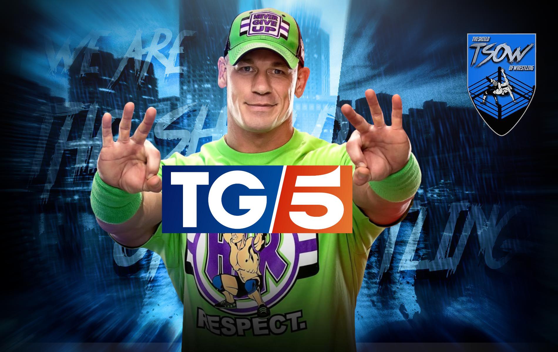 John Cena: incredibile gaffe del TG5