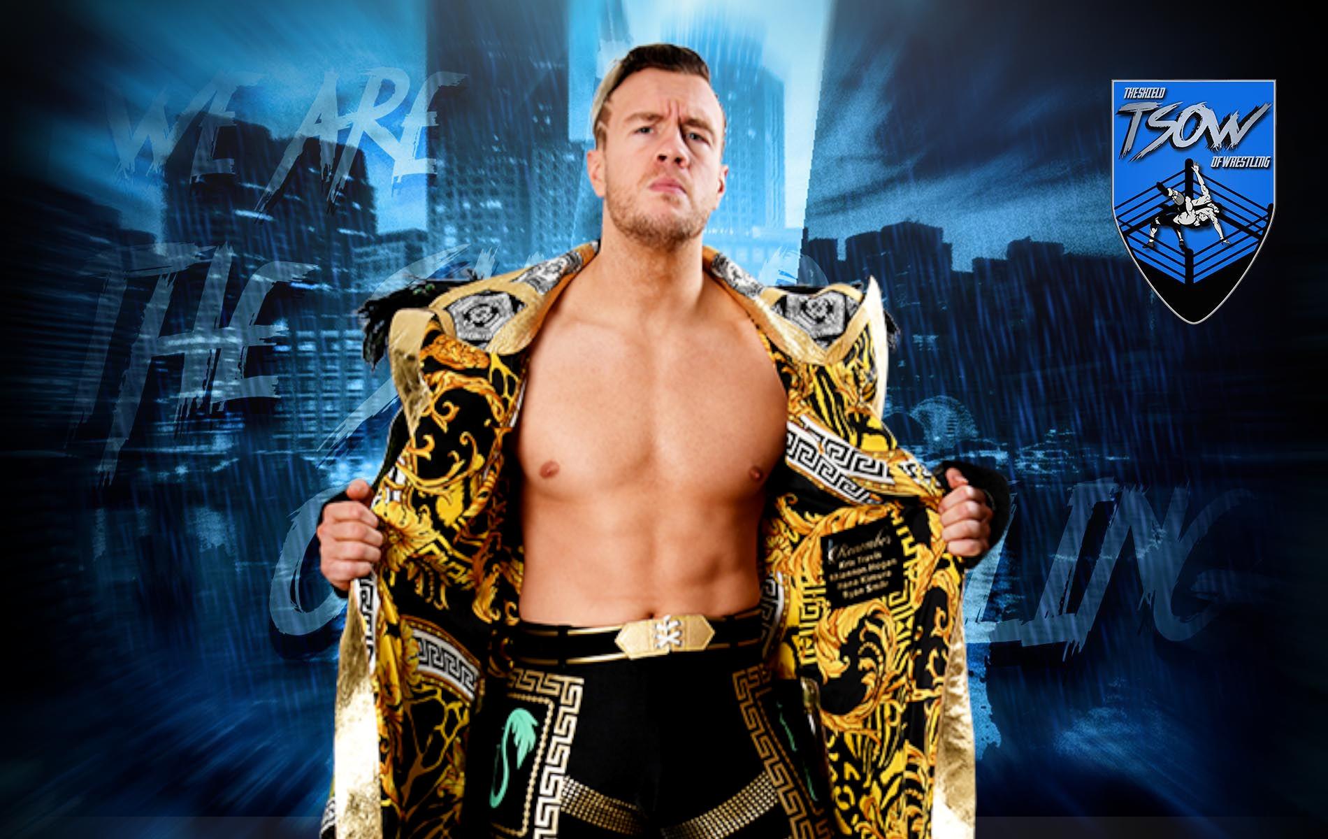 Will Ospreay rende vacante il titolo IWGP