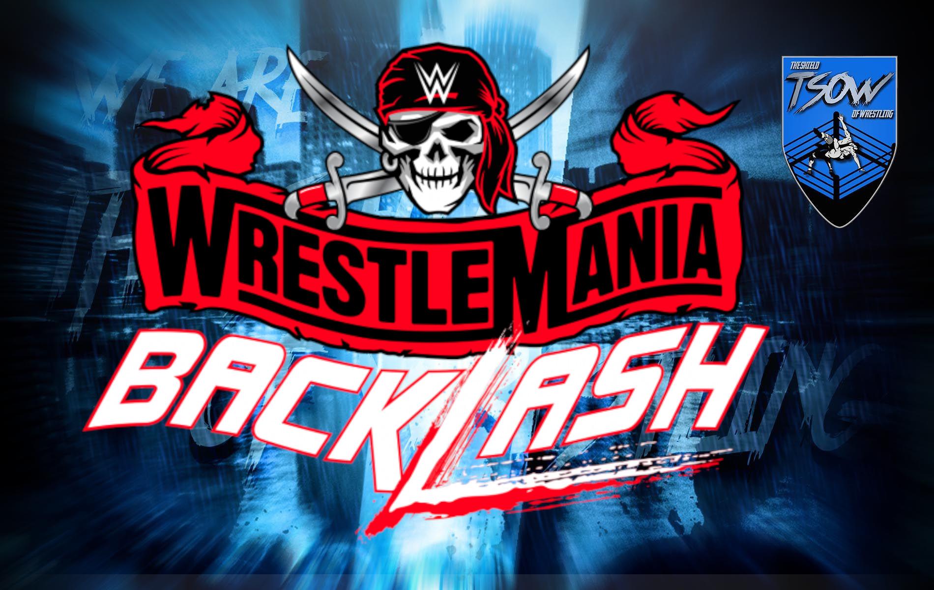 WrestleMania Backlash: possibile spoiler su un match titolato