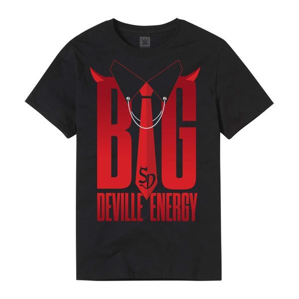 """Sonya Deville """"Big Deville Energy"""" Authentic T-Shirt front"""