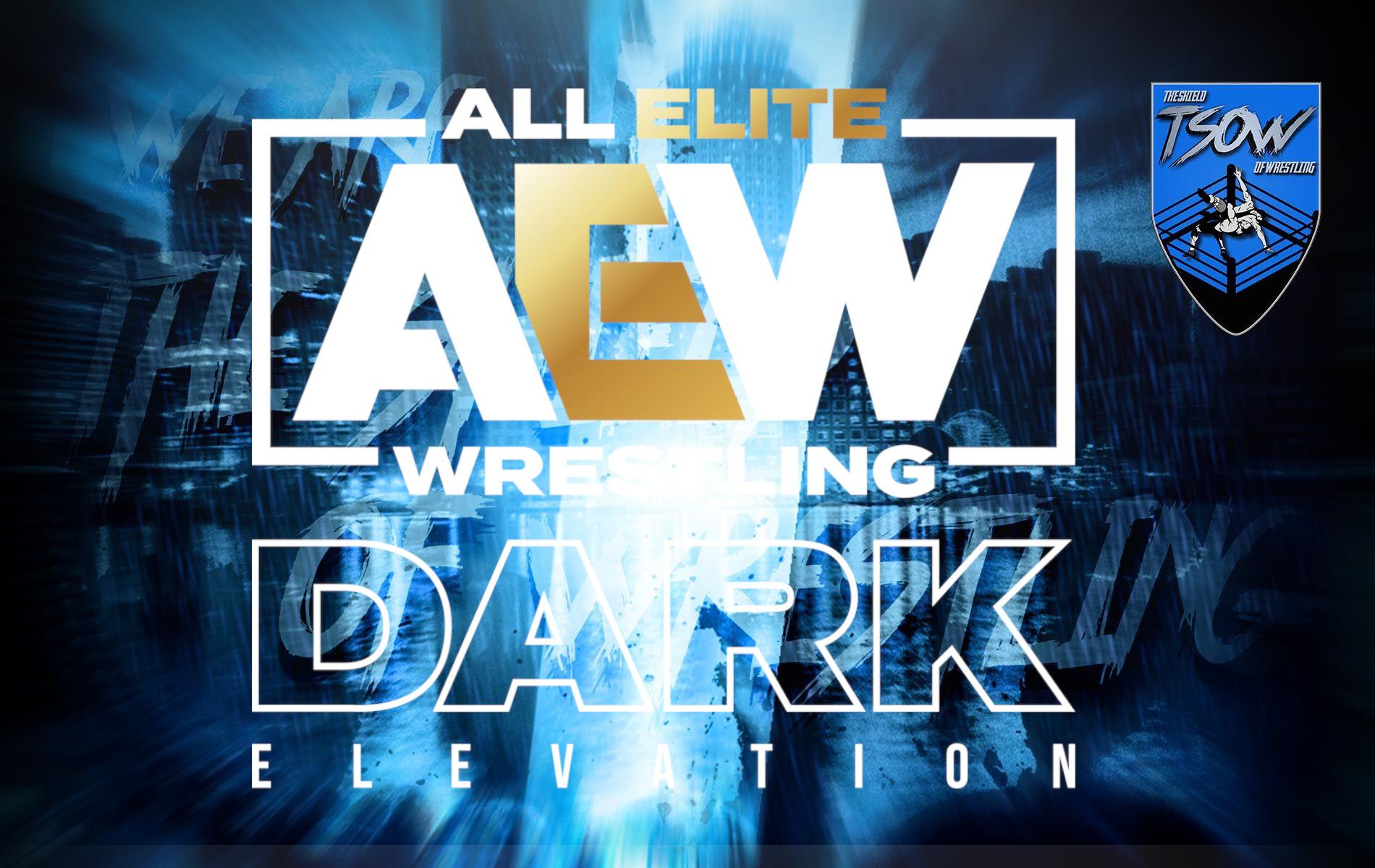 AEW Dark Elevation Risultati 31-05-2021