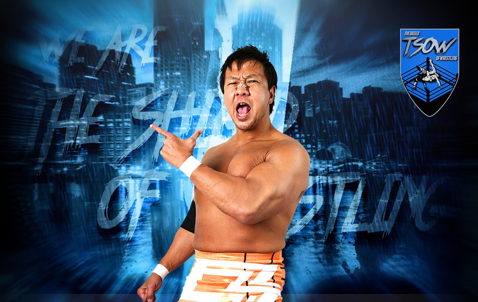 Satoshi Kojima debutterà ad IMPACT! Wrestling