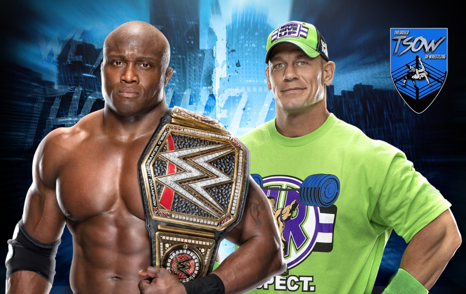 Bobby Lashley lancia la sfida a John Cena