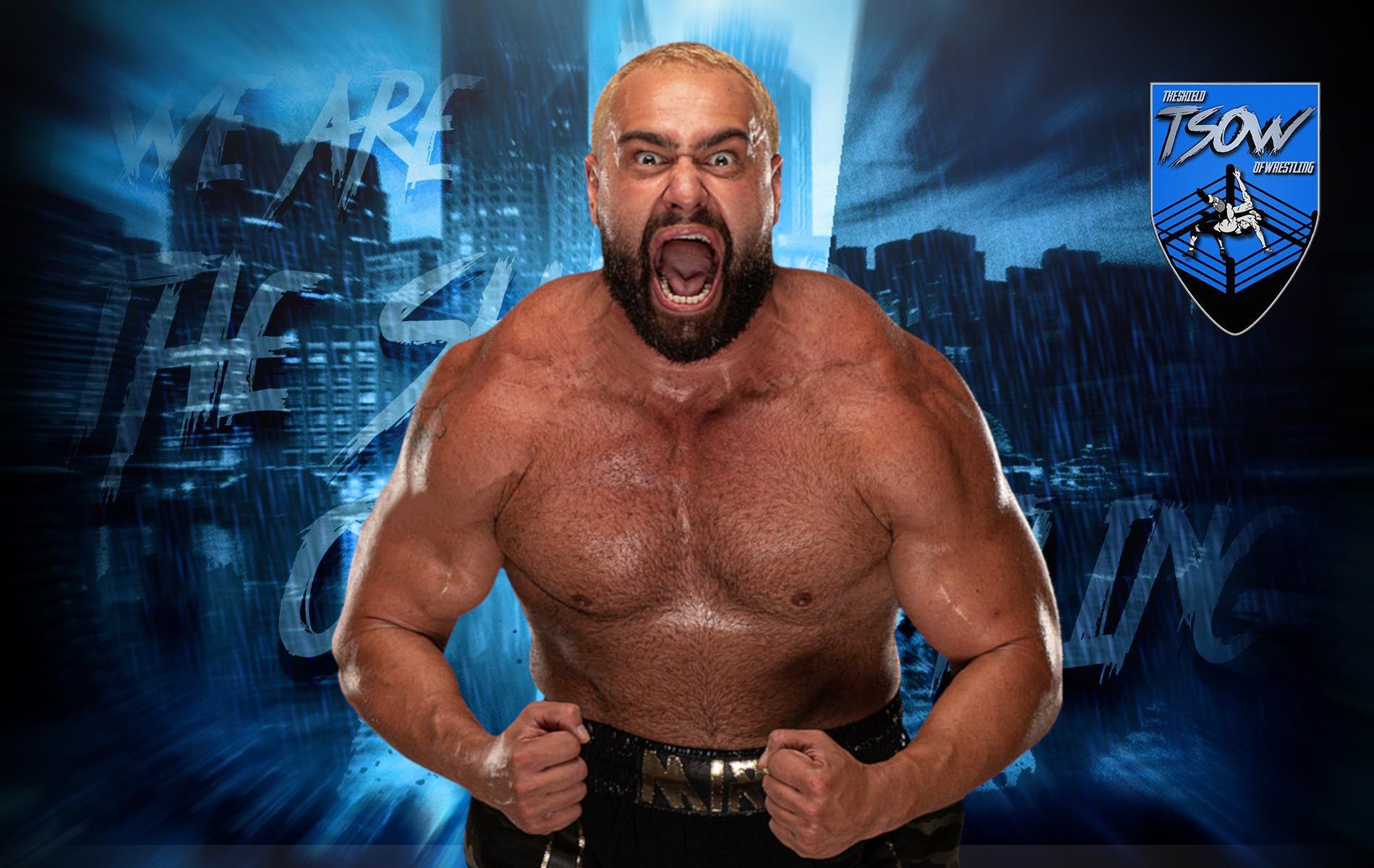 "Miro attacca Jake ""The Snake"" Roberts all'AEW Fan Fest"