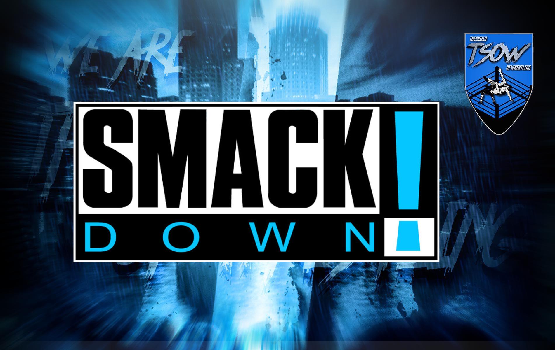 Throwback SmackDown: novità e citazioni della serata
