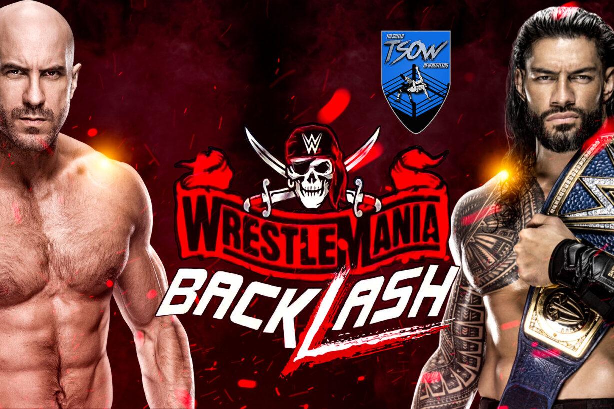 Report WrestleMania Backlash 2021 - WWE