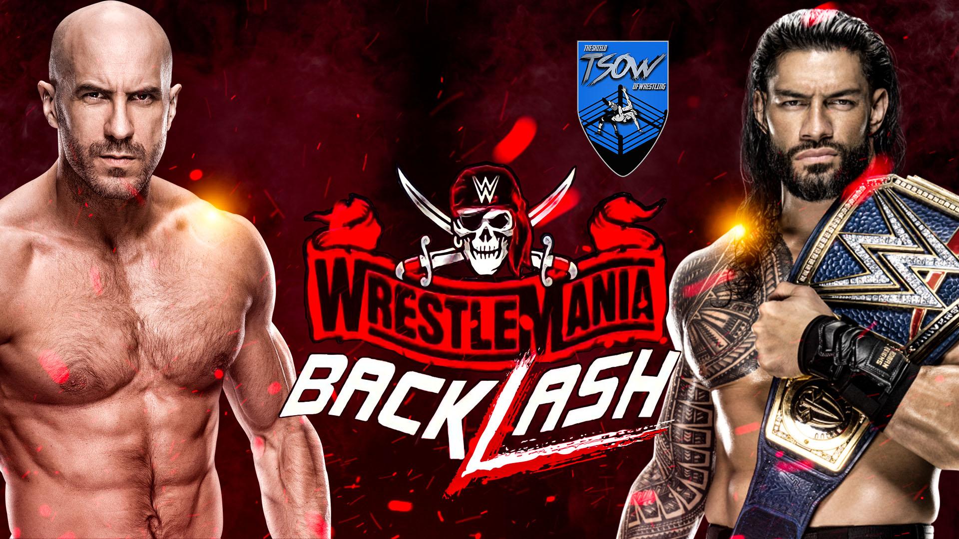 WrestleMania Backlash 2021 - Anteprima
