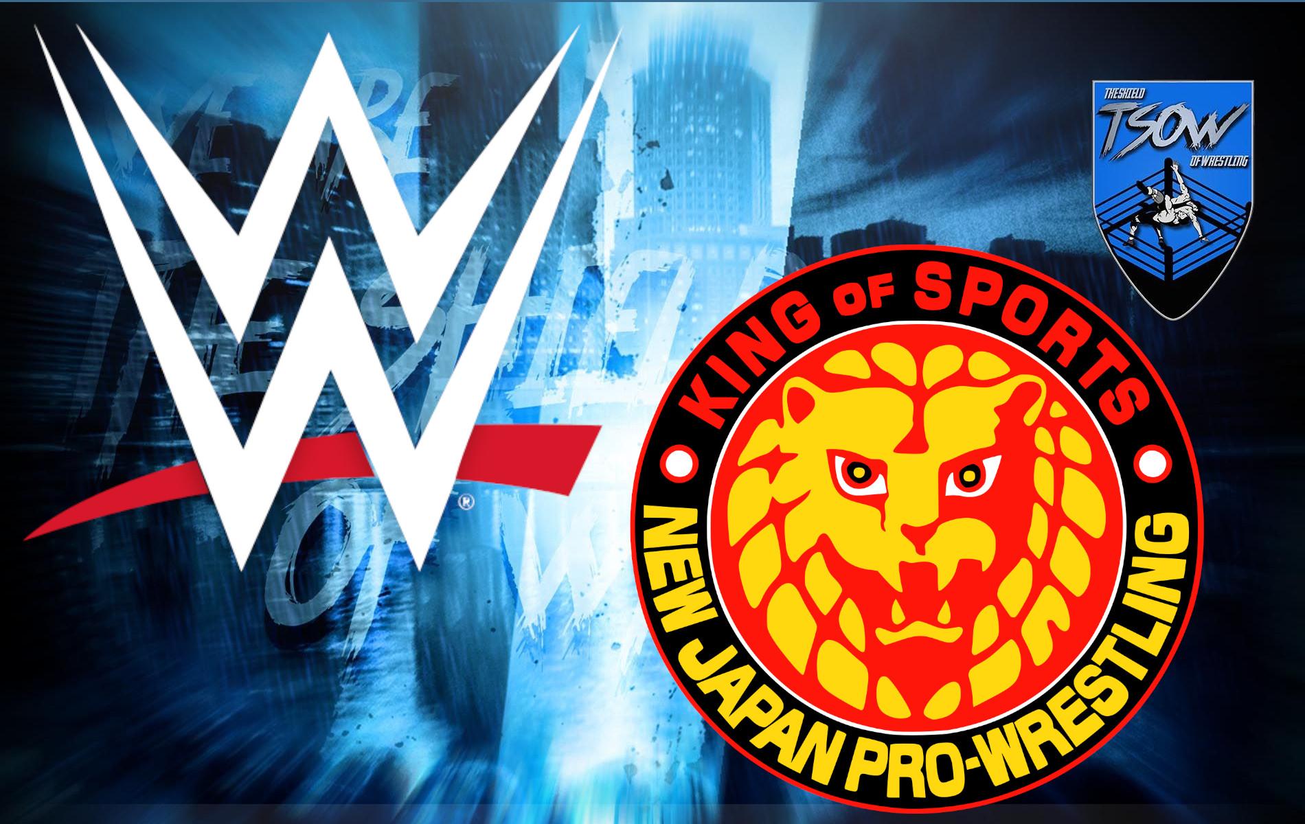 WWE - NJPW: contatti per una clamorosa collaborazione