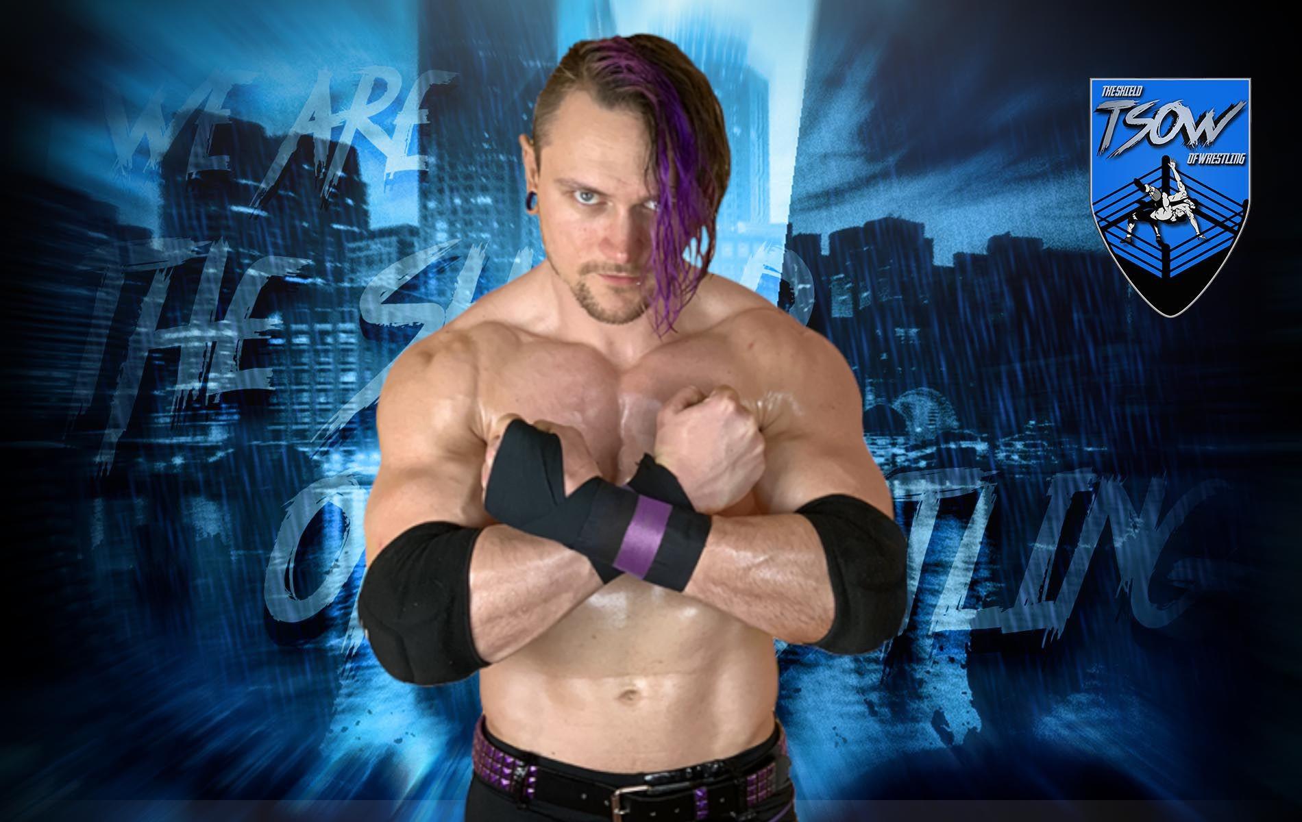 Alex Zayne: annunciato il debutto ufficiale in WWE