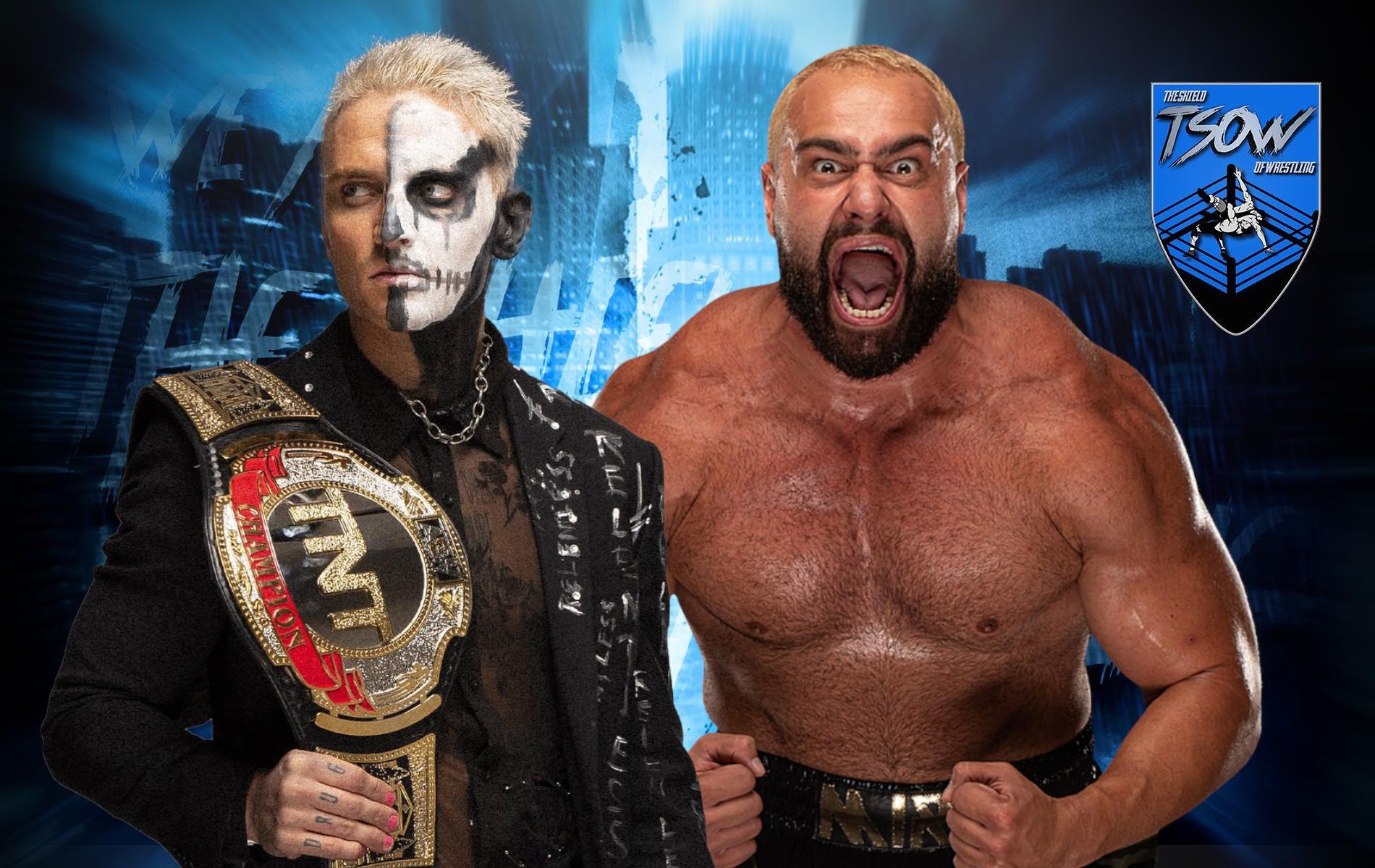 Miro batte Darby Allin e vince il TNT Championship
