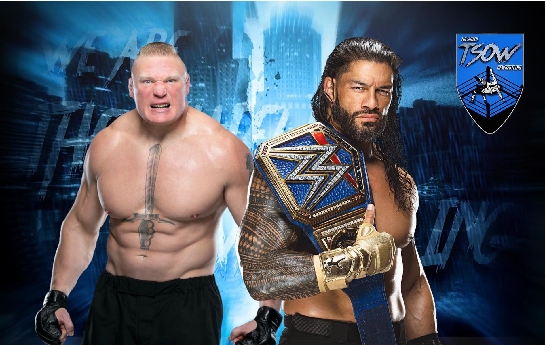 Brock Lesnar e Roman Reigns definiti i migliori al mondo