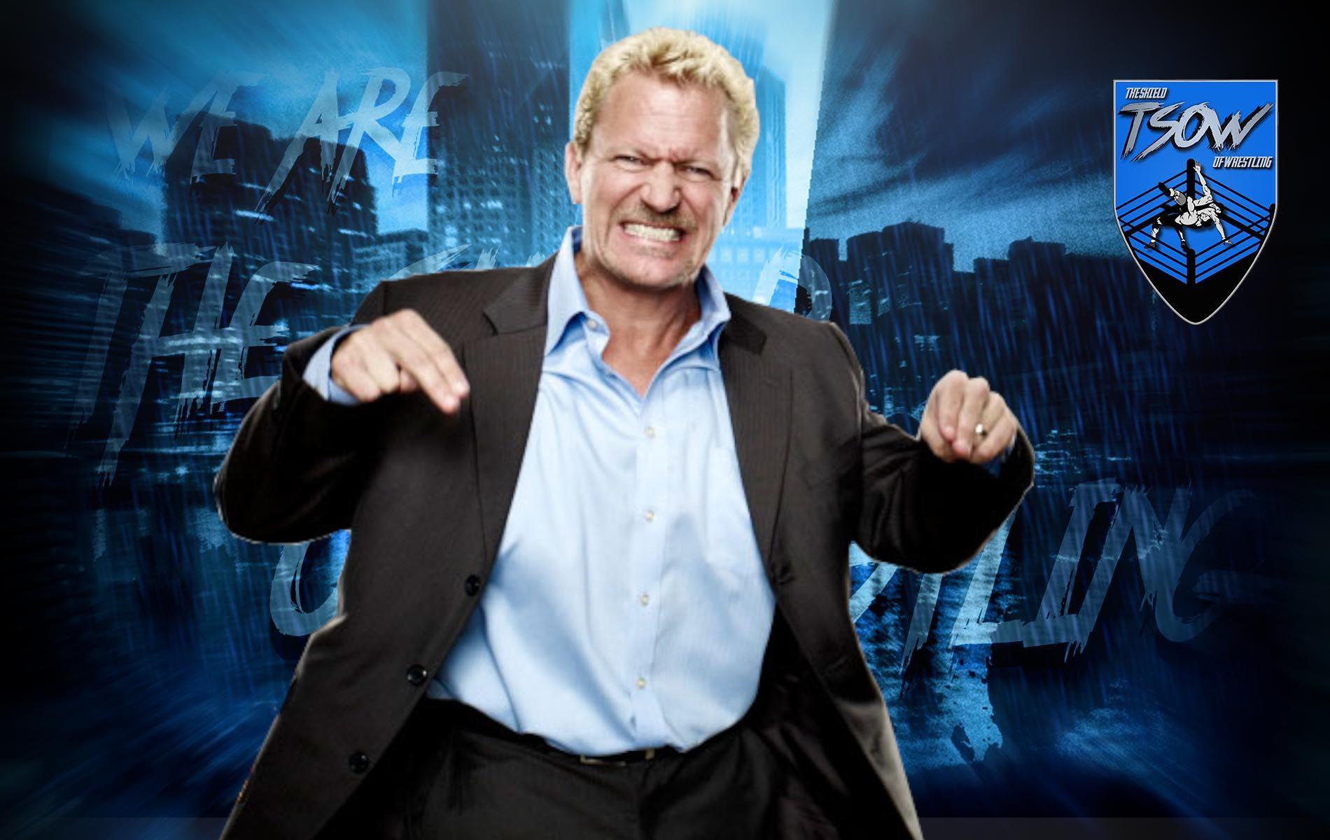 Jeff Jarrett si emoziona nel parlare di Vince McMahon?