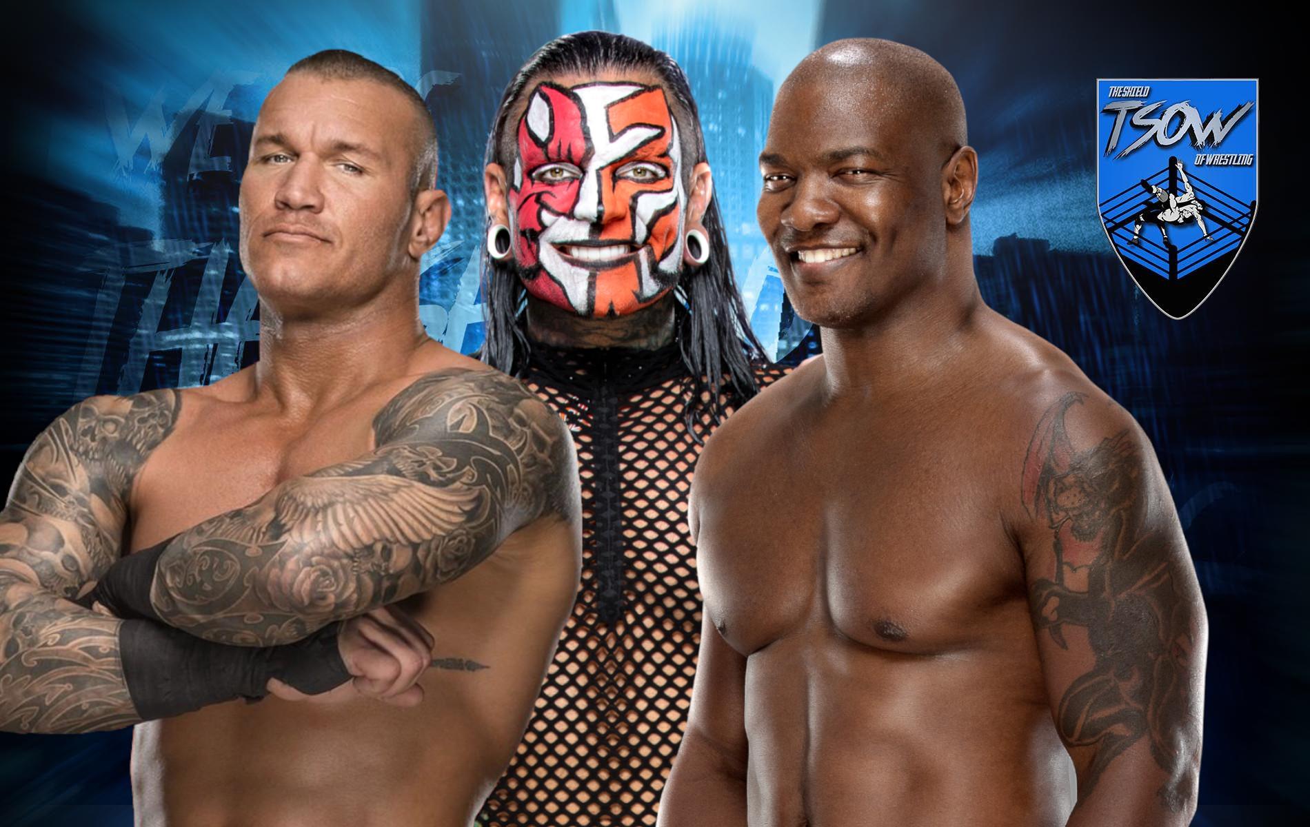 Randy Orton, Shelton Benjamin e Jeff Hardy: curiosa statistica a RAW