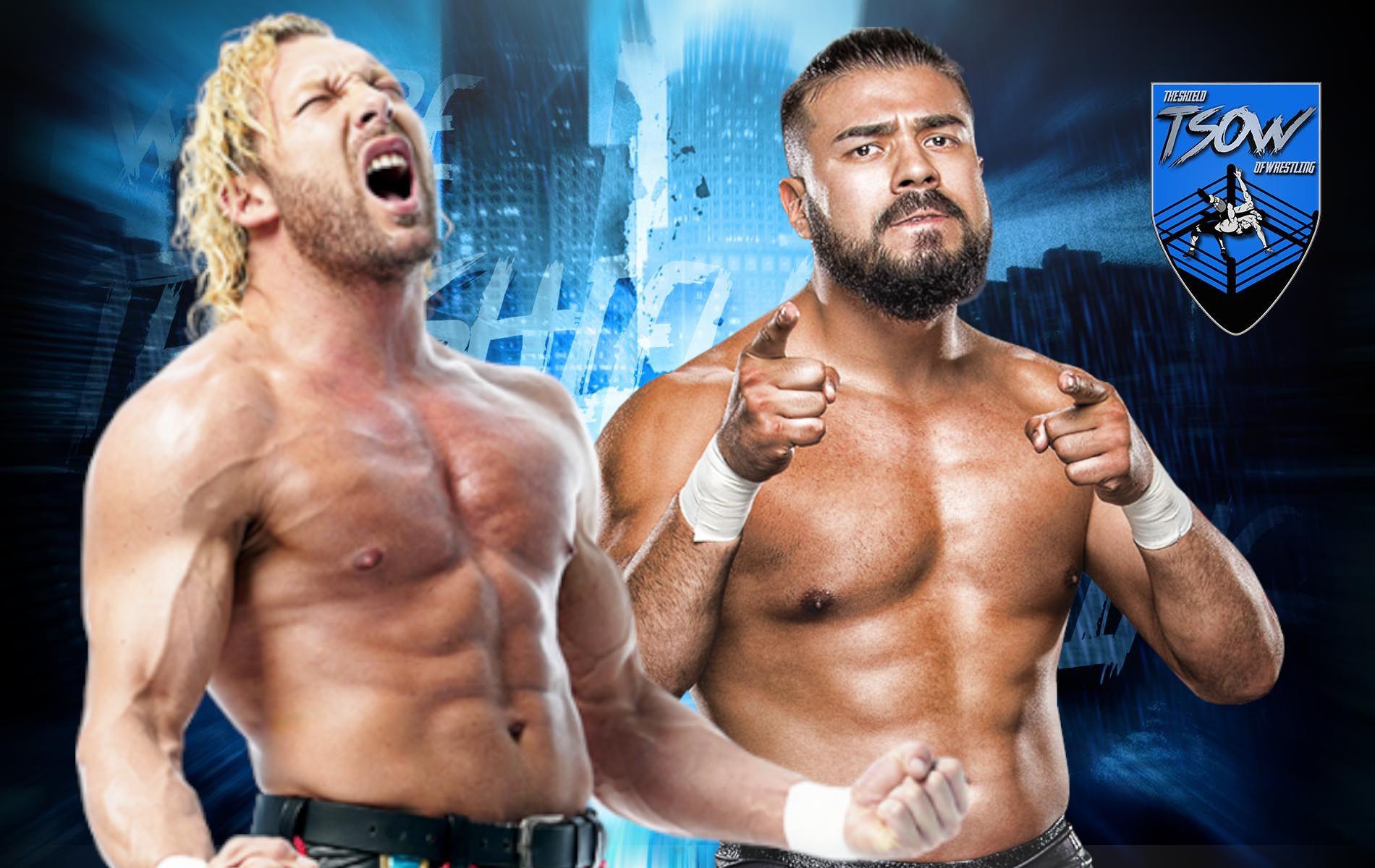 Kenny Omega vs Andrade annunciato ufficialmente dalla AAA