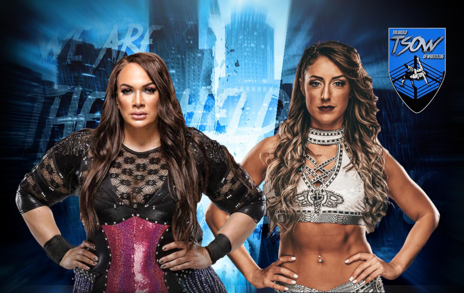 Nia Jax: la WWE posta un video del suo match con Britt Baker
