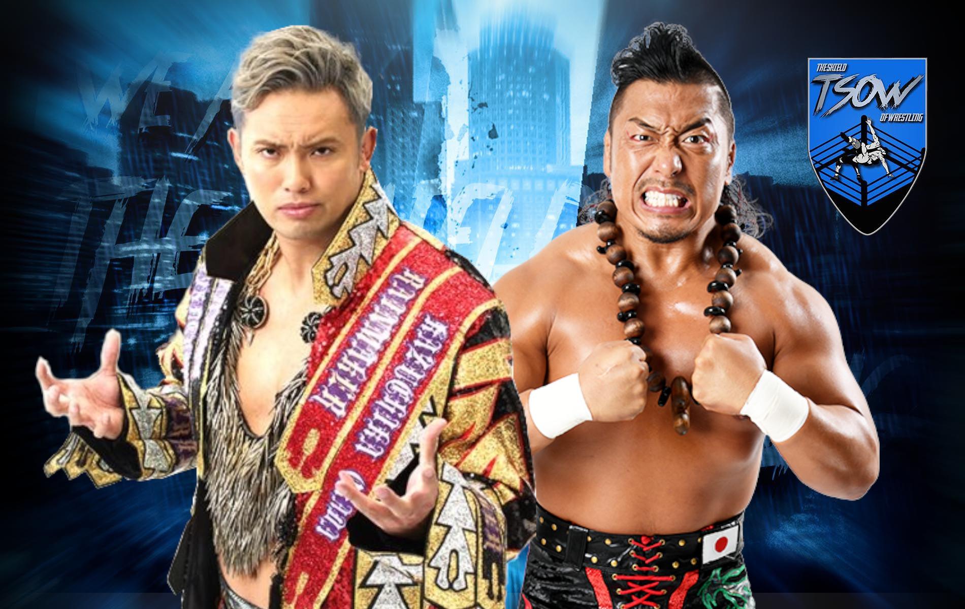Shingo Takagi è il nuovo campione IWGP