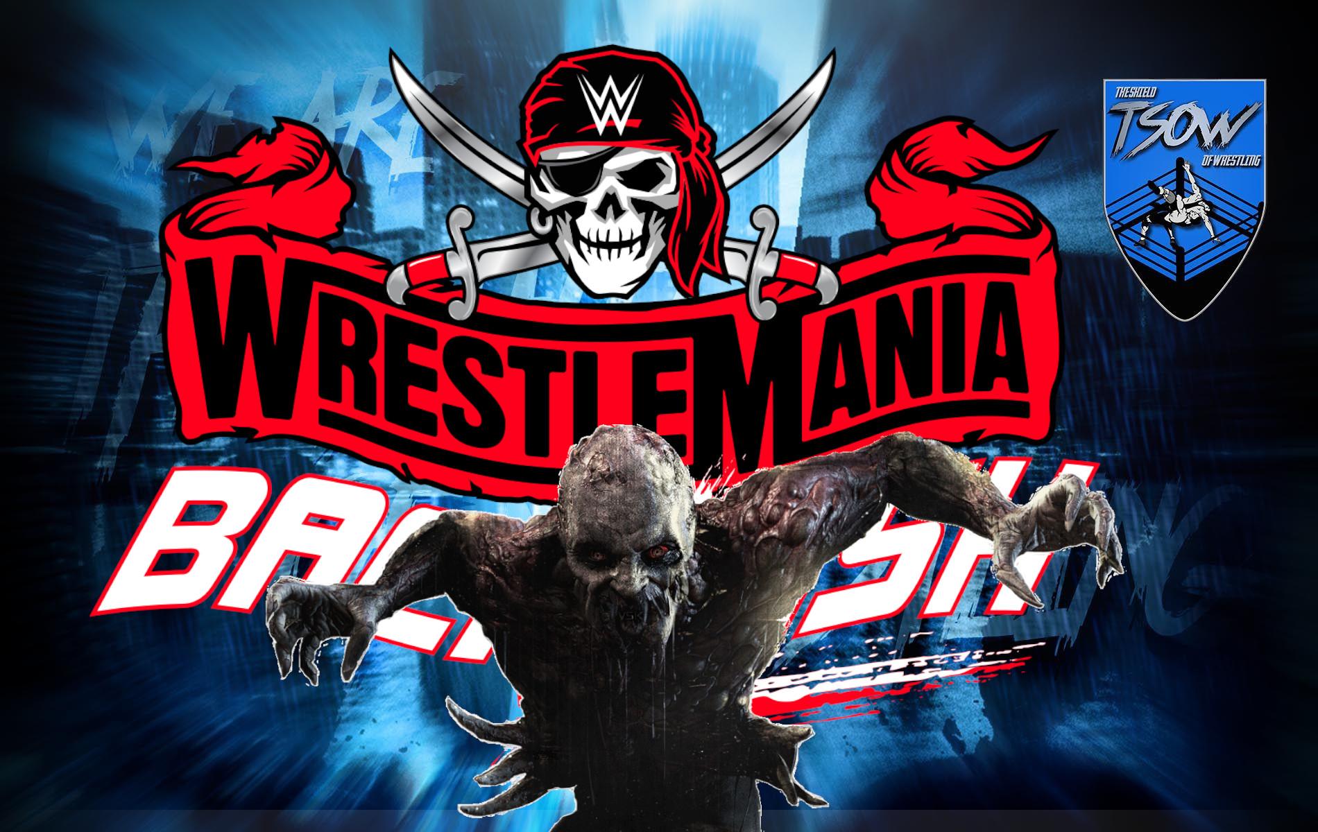 WrestleMania Backlash: rivelati chi erano i wrestler zombie