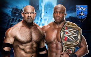 Bobby Lashley conferma il match contro Goldberg?