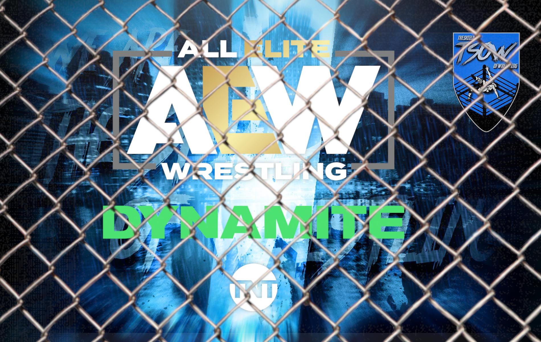 AEW Dynamite: annunciato un match MMA