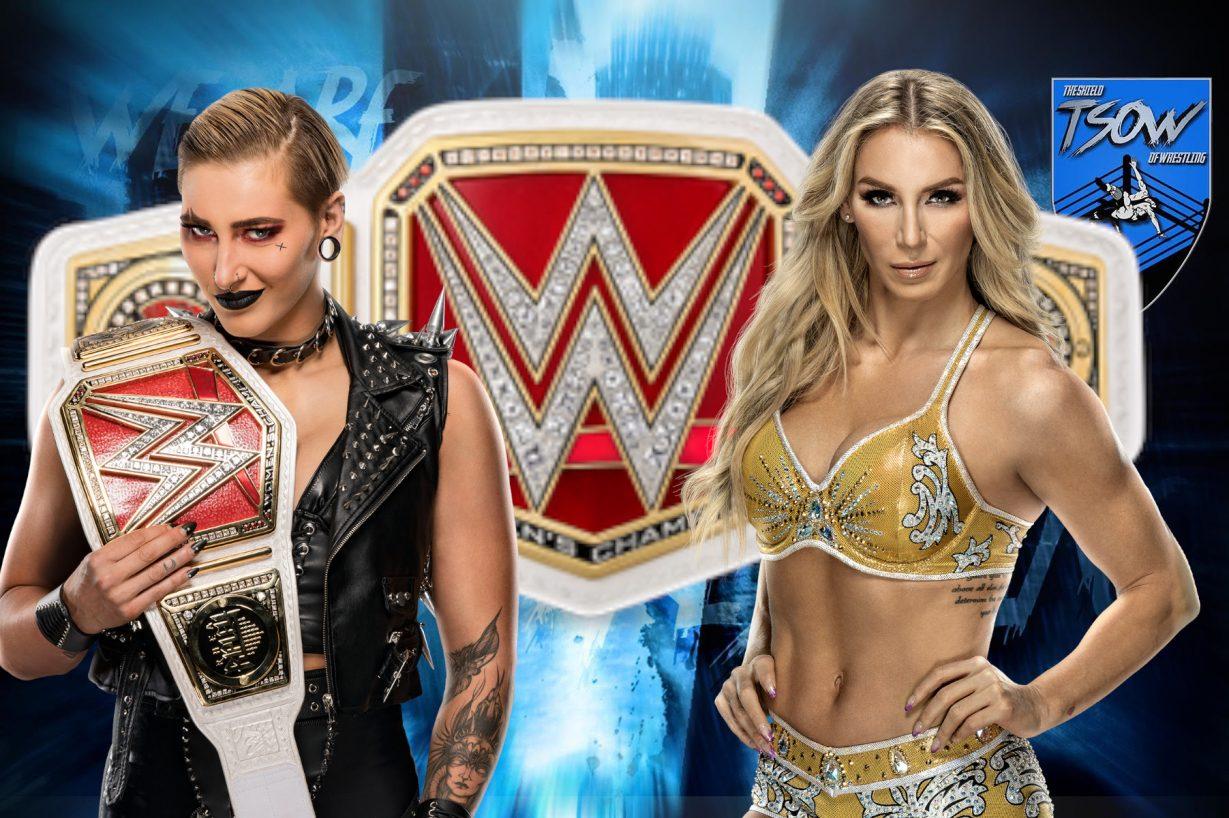 Rhea Ripley vs Charlotte Flair si sfideranno a Money In The Bank