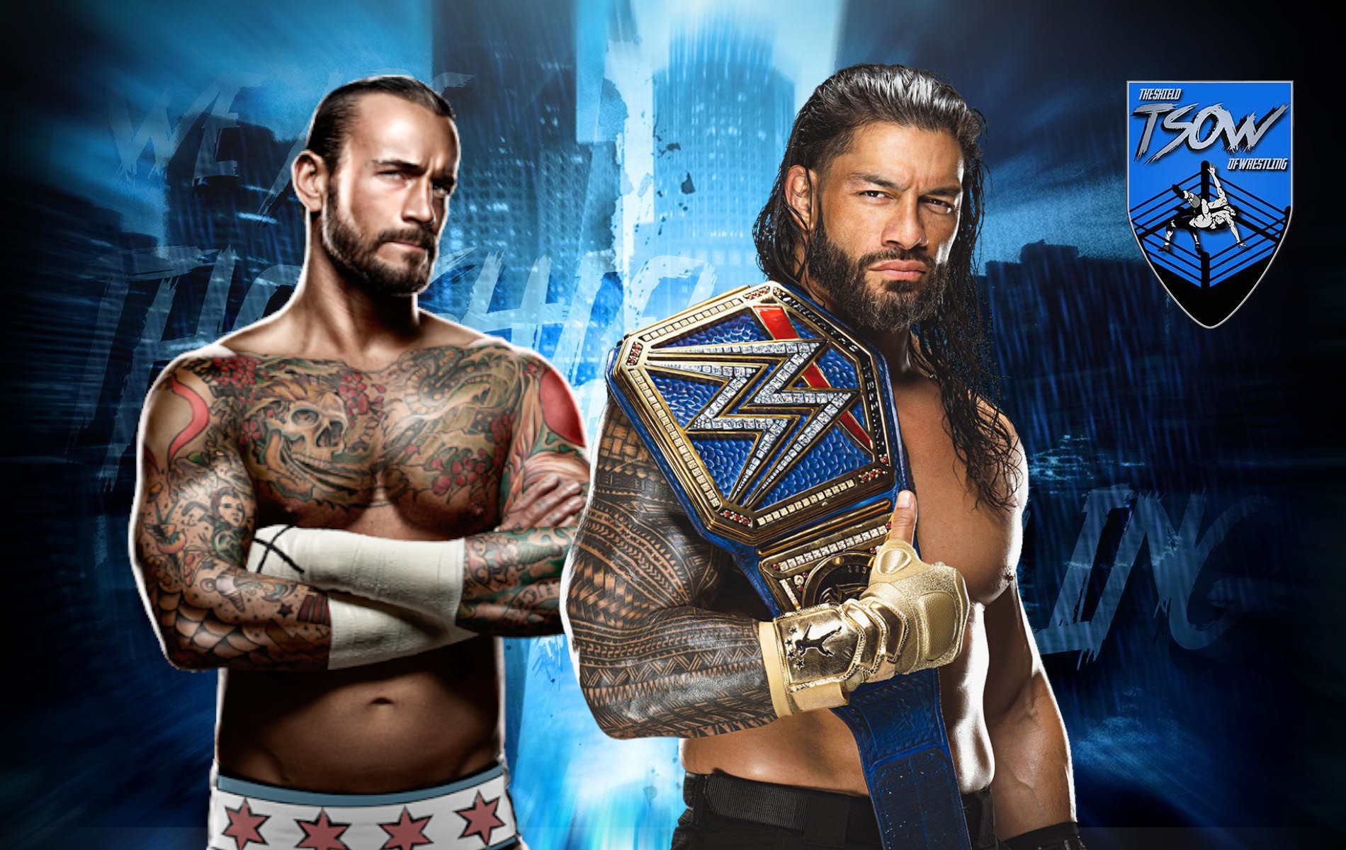 CM Punk discute di Roman Reigns