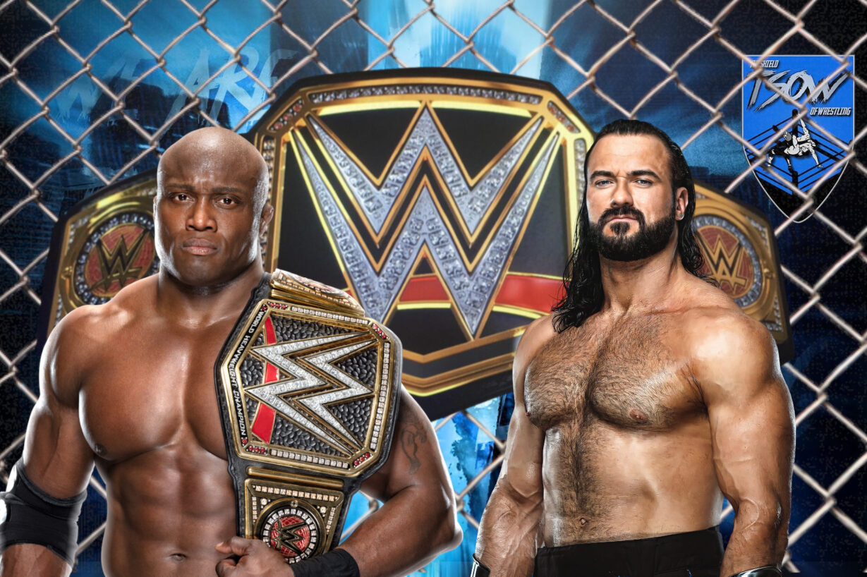 Bobby Lashley ha sconfitto Drew McIntyre ad Hell in a Cell