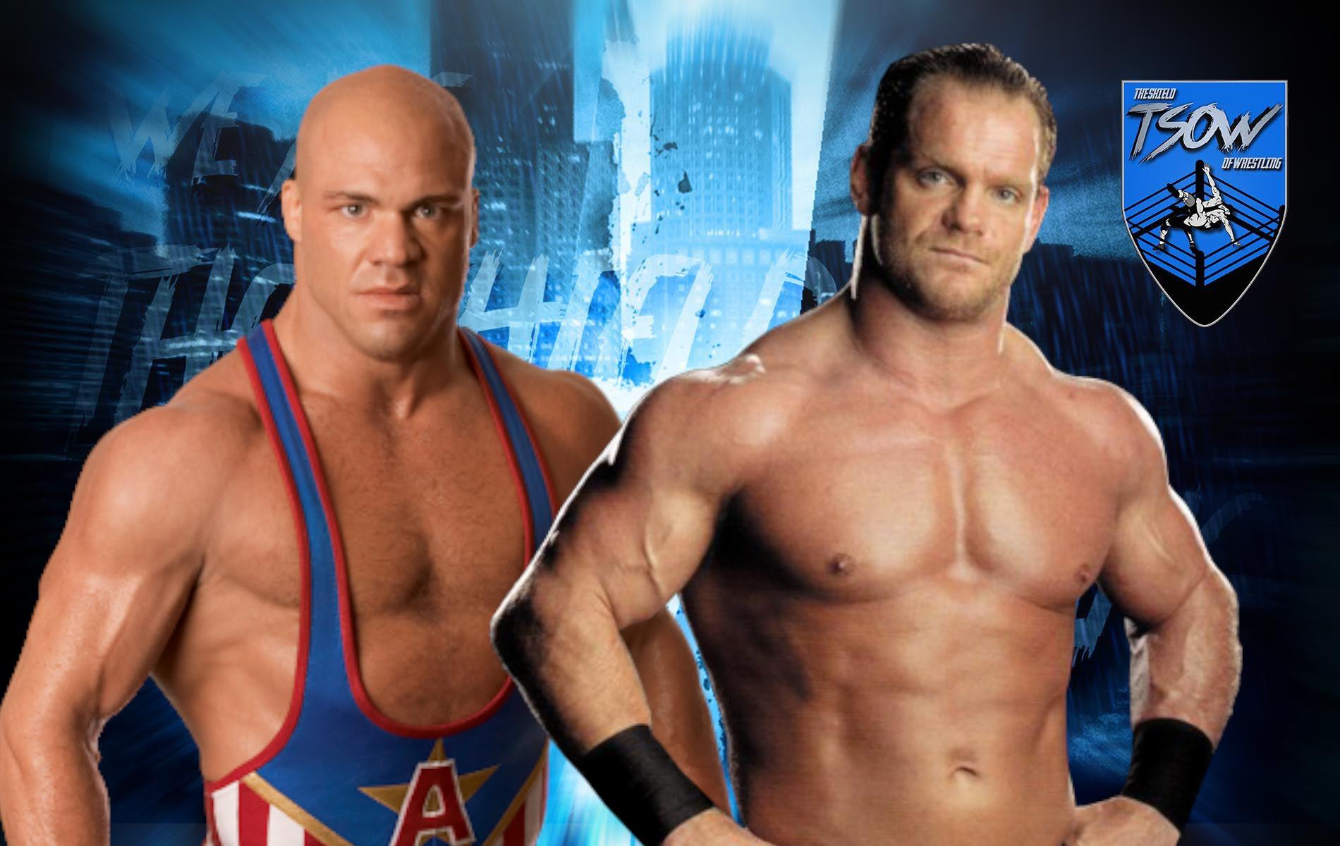 Chris Benoit e Kurt Angle misero paura a Steve Austin