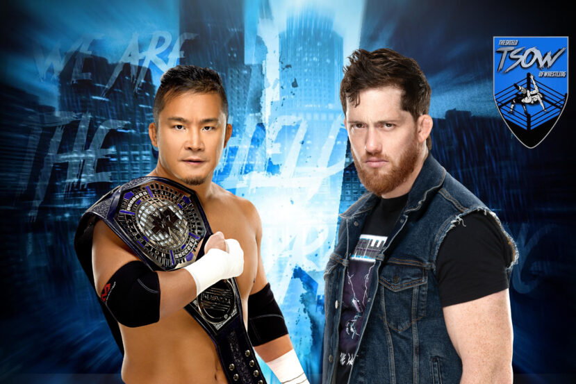 Kyle O'Reilly vs Kushida annunciato per NXT